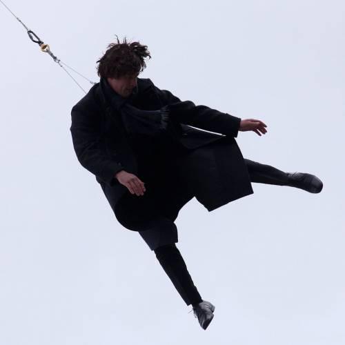 Падение шерлока фото съемки сериала